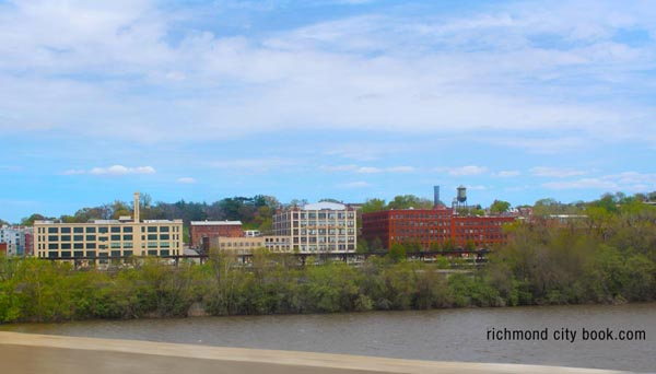 Richmond Virginia 2015 waterfront