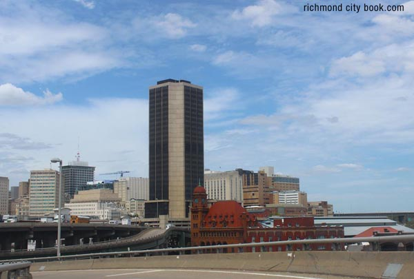 Richmond Virginia 2015skyline