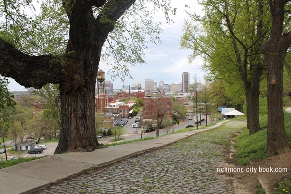 Richmond Virginia 2015 - Looking toward Richmond from Libbey Park.