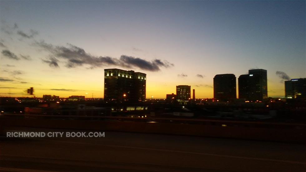 Richmond Virginia Skyline Jan 2016