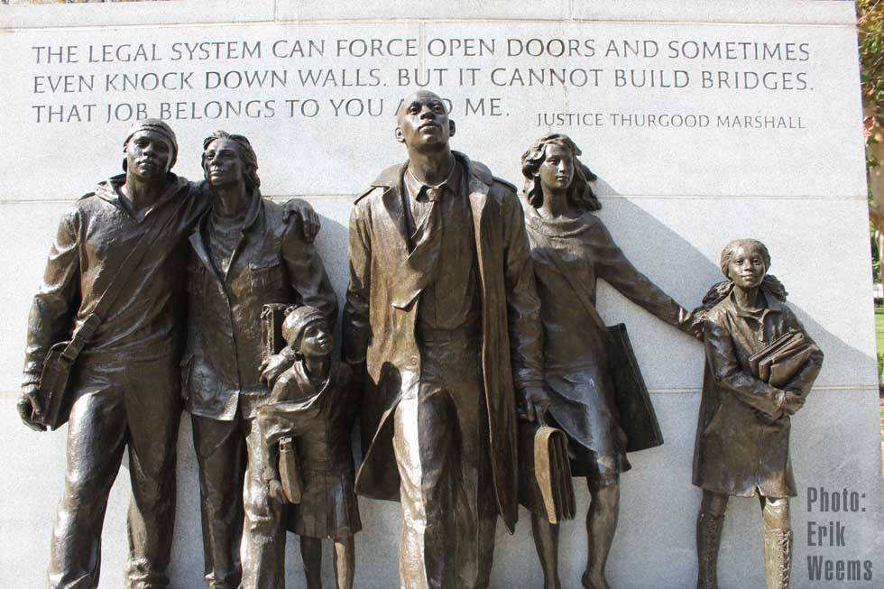 Civil Rights Statue Richmond Virginia