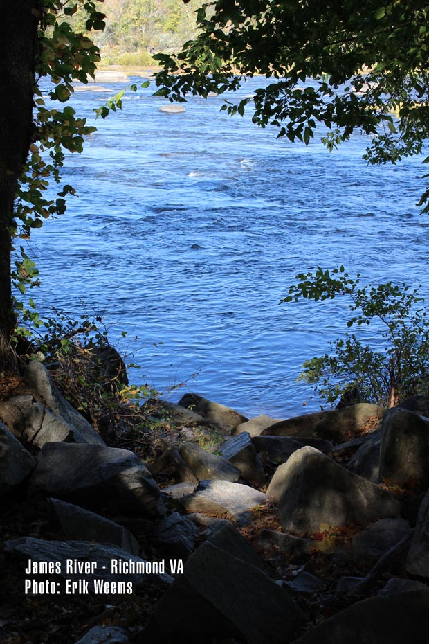 James River - Richmond Virginia