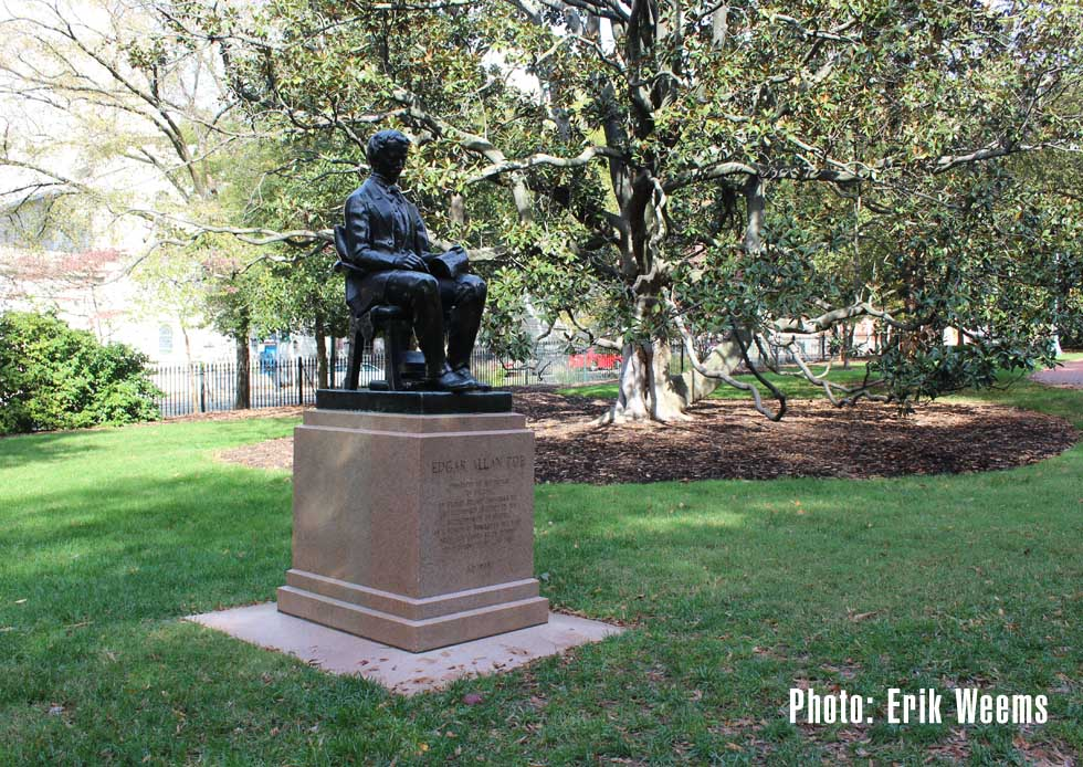 Poe Statue - Richmond Capitol Square Park
