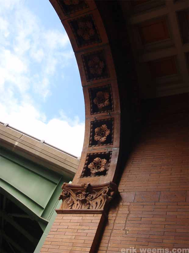 Arch at Old Train Station Richmond Virginia