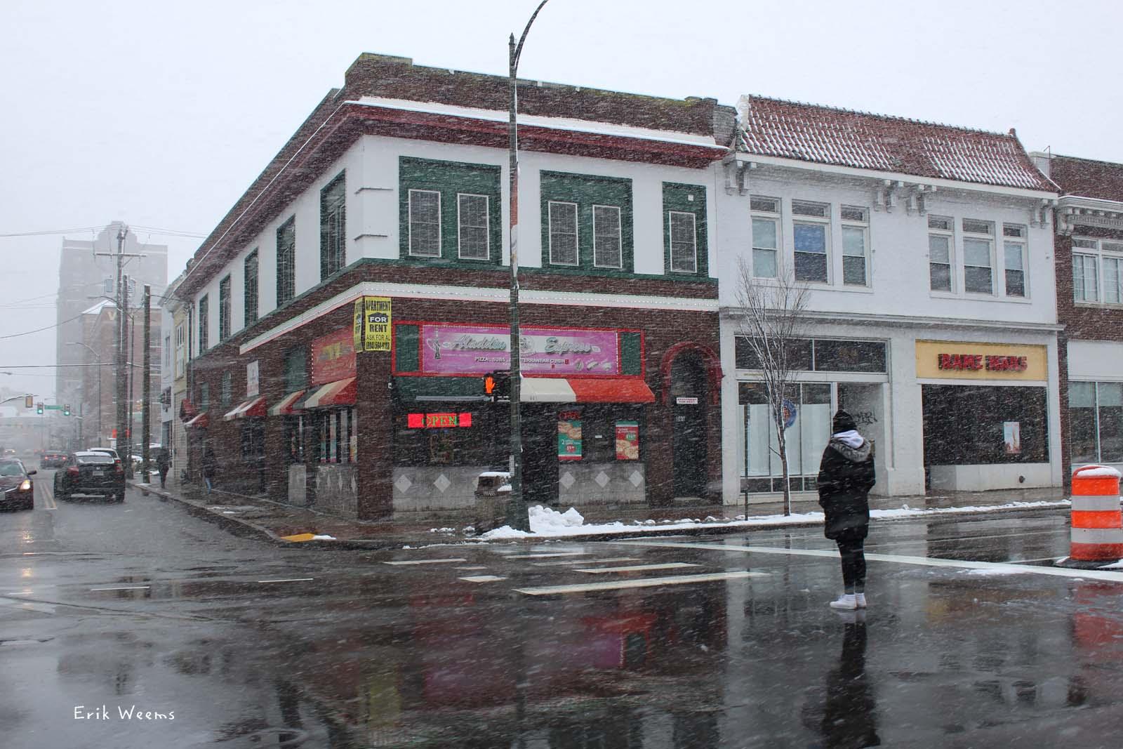 City Of Richmond Va >> Richmond Virginia in the snow