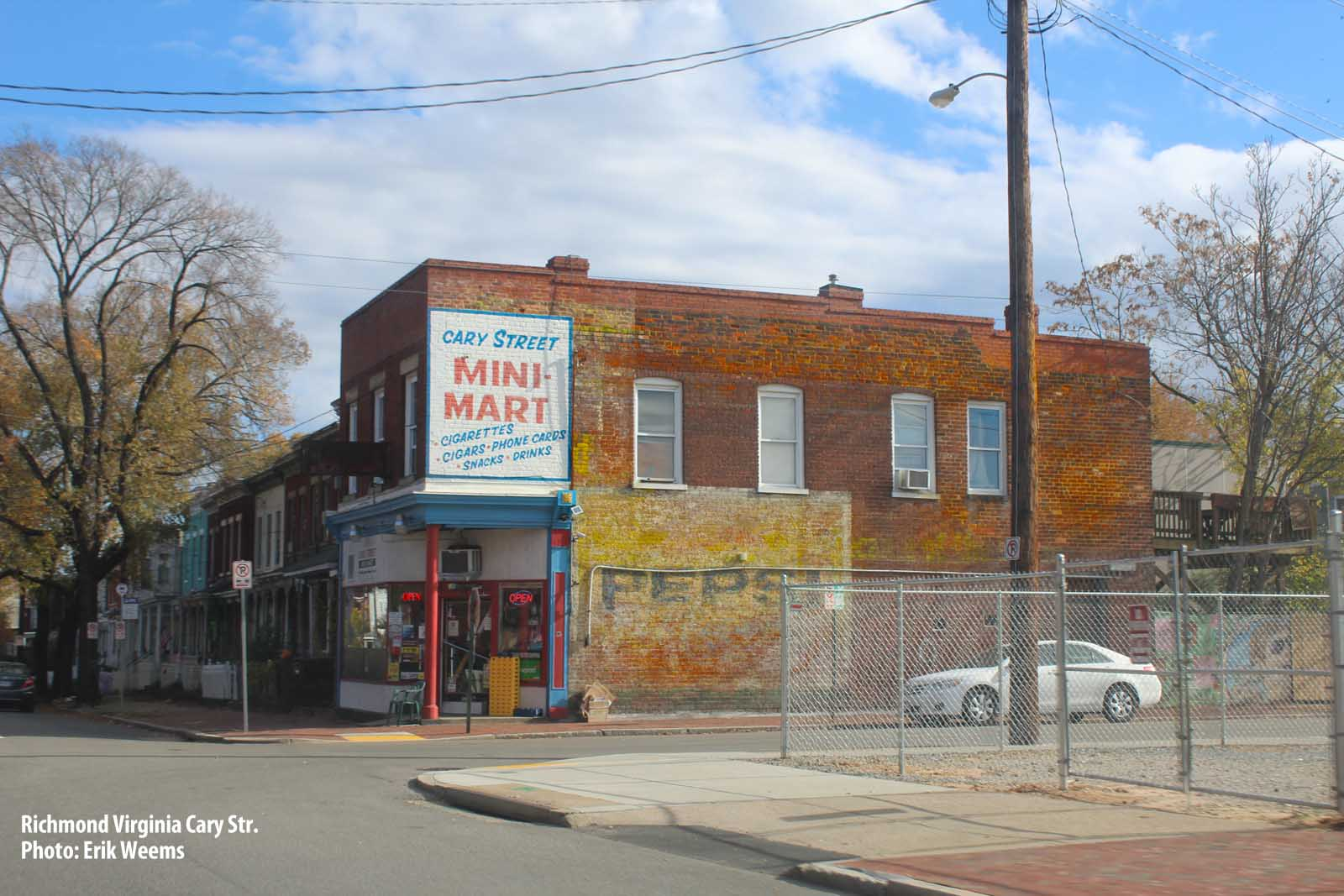 Enlarged - Cary Street Mini Mart