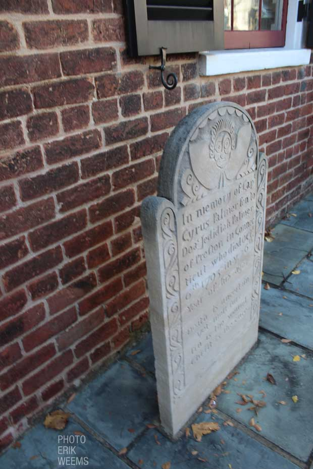 Cyerus Grave Marker St John Church Richmond Virginia