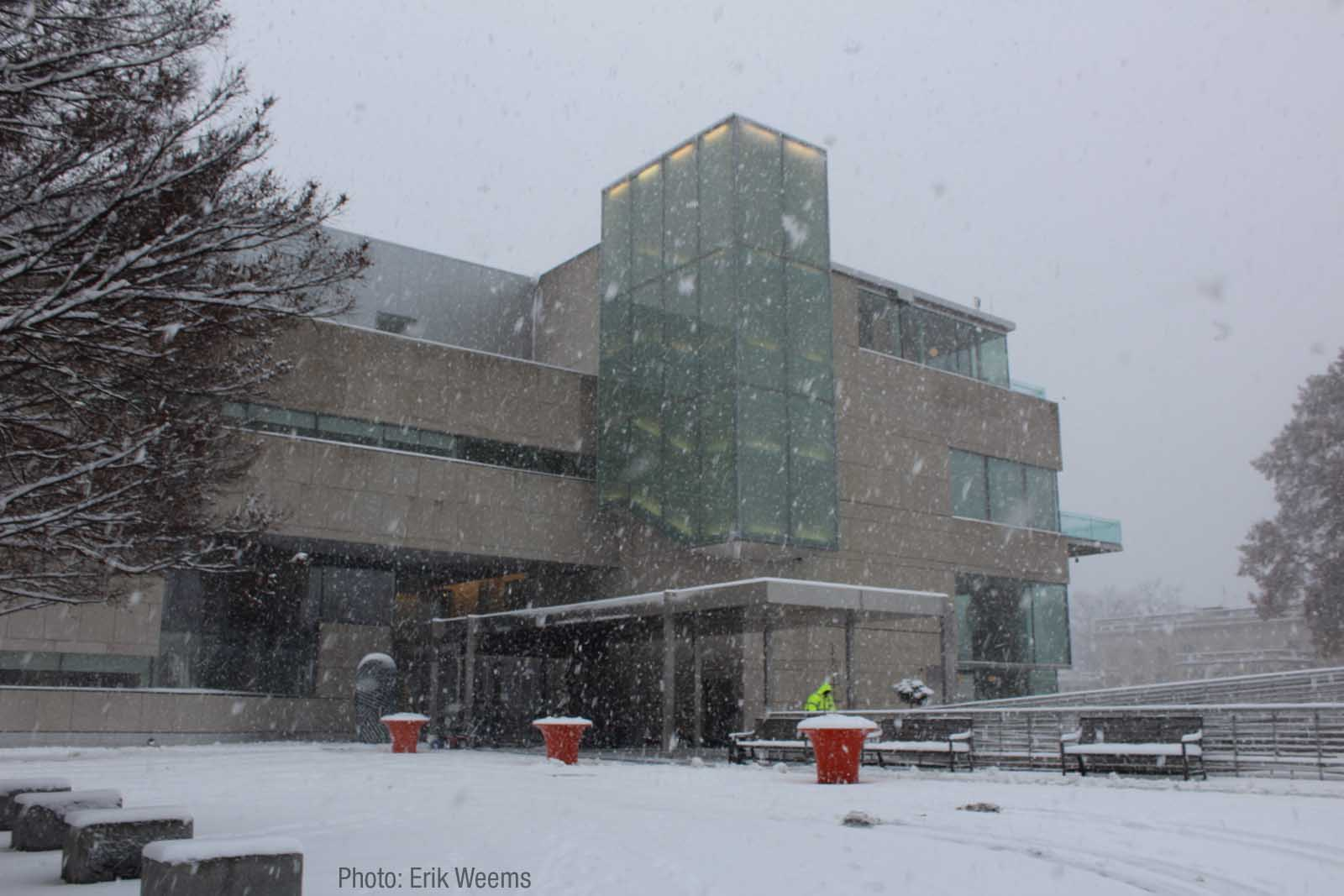 Enlarged - VMFA MUseum in the Snow