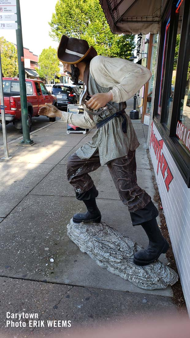 Pirate Figure on Cary Street in Carytown