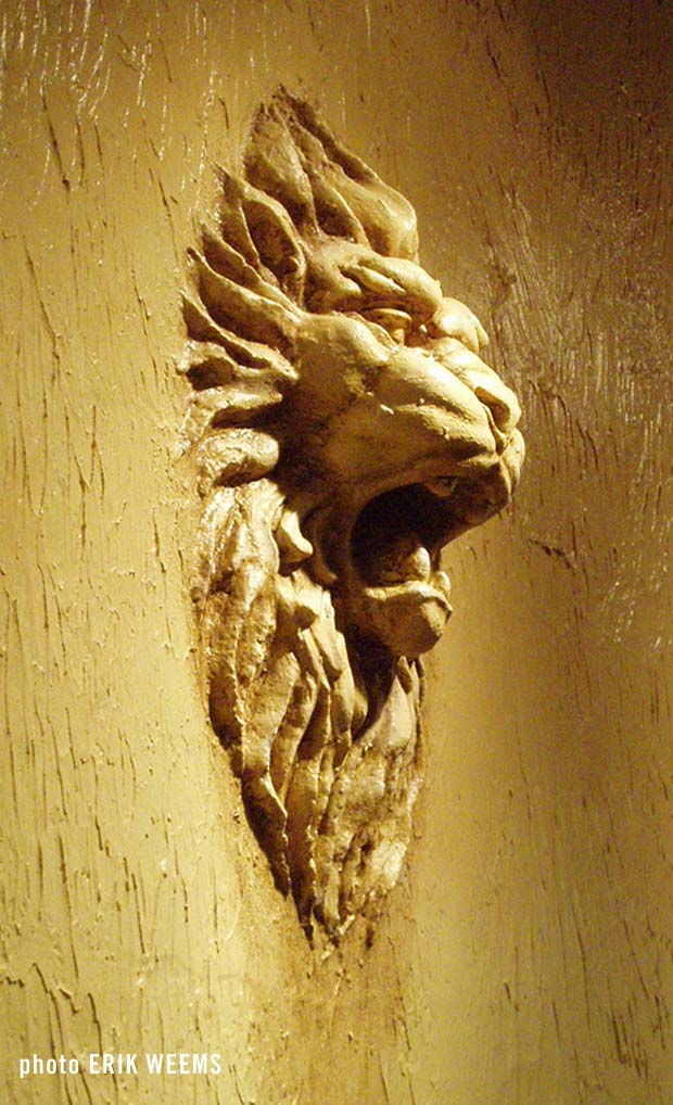 Lion on the Wall