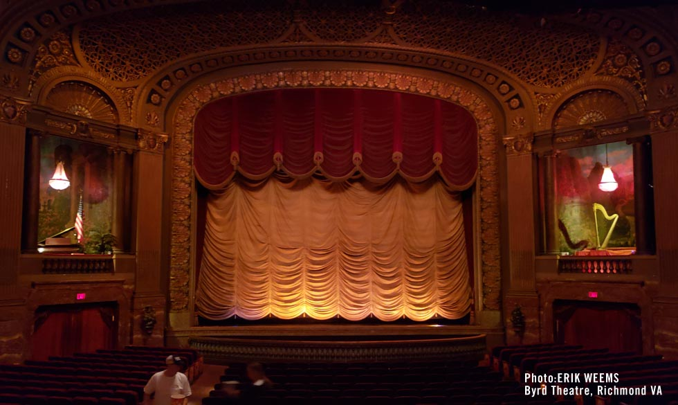 Byrd Theater inside Seats