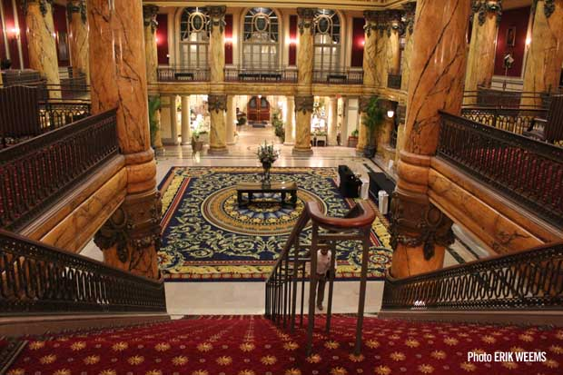 Jefferson Hotel staircase