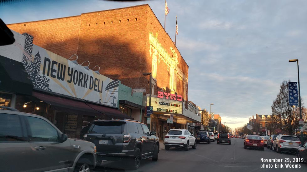 Carytown Byrd Theater Sunset