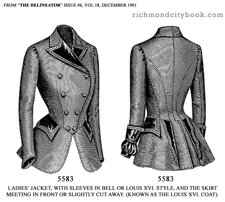Ladies Fashion Jackets 1901