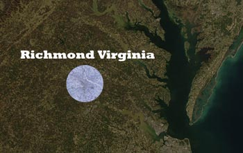 Satellite Image Virginia