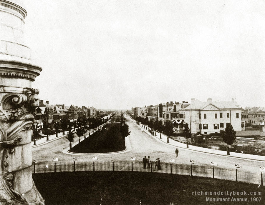 Monument Avenue Richmond 1907