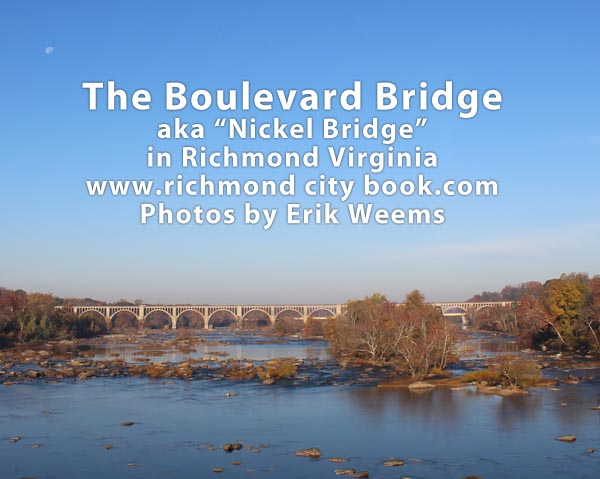 Boulevard Bridge over James River