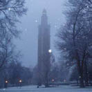 Carillon Tower Snow